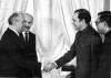 Горбачев и Раджив Ганди.